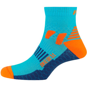 P.A.C. BK 3.1 Bike Cool Socks Damen neon blue